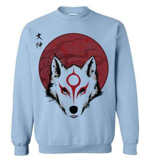 Red Sun God-Gaming Sweatshirts-Ddjvigo|Threadiverse