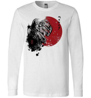 Red Sun Guts-Anime Long Sleeves-Ddjvigo|Threadiverse