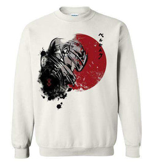 Red Sun Guts-Anime Sweatshirts-Ddjvigo|Threadiverse