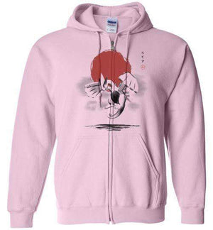 Red Sun Harmony-Gaming Hoodies-Ddjvigo|Threadiverse