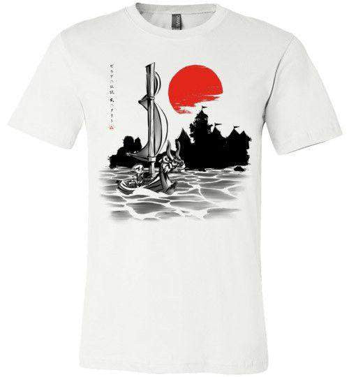 Red Sun Hero-Gaming Shirts-Ddjvigo|Threadiverse