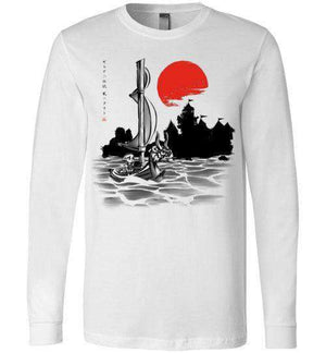 Red Sun Hero-Gaming Long Sleeves-Ddjvigo|Threadiverse