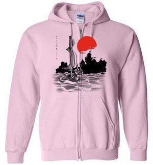 Red Sun Hero-Gaming Hoodies-Ddjvigo|Threadiverse
