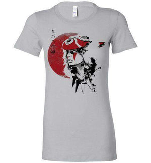 Red Sun Princess-Anime Women's Shirts-Ddjvigo|Threadiverse