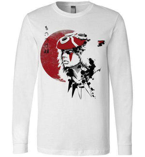 Red Sun Princess-Anime Long Sleeves-Ddjvigo|Threadiverse