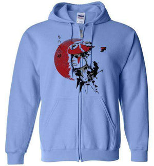 Red Sun Princess-Anime Hoodies-Ddjvigo|Threadiverse