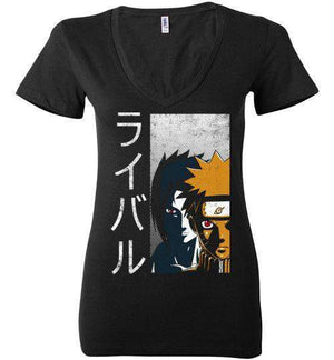Rivals-Anime Women's V-Necks-Ddjvigo|Threadiverse