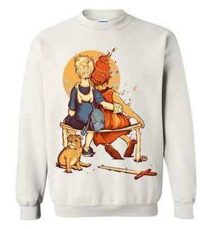 Rockwell Time-Animation Sweatshirts-Creative Outpouring|Threadiverse