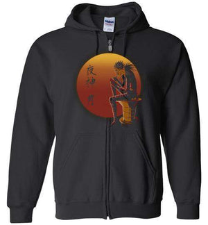 Ryuk Sunset-Anime Hoodies-Ddjvigo|Threadiverse