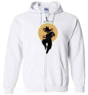 Saiyan Hero-Anime Hoodies-Ddjvigo|Threadiverse