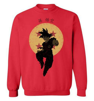 Saiyan Hero-Anime Sweatshirts-Ddjvigo|Threadiverse