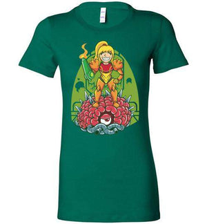 Samus-Gaming Women's Shirts-TrulyEpic|Threadiverse