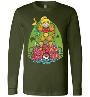 Samus-Gaming Long Sleeves-TrulyEpic|Threadiverse