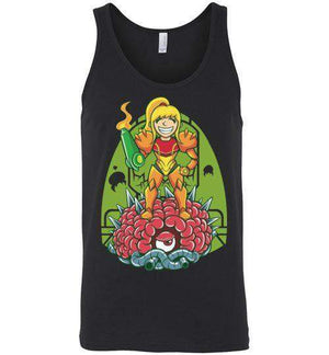 Samus-Gaming Tank Tops-TrulyEpic|Threadiverse
