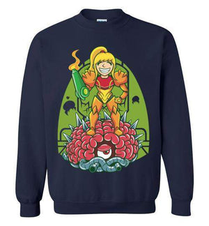 Samus-Gaming Sweatshirts-TrulyEpic|Threadiverse