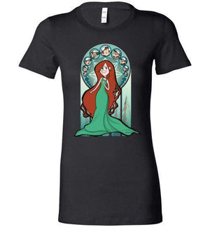 Sanctuary Of Wendy-Animation Women's Shirts-Whimsy Design And Illustration|Threadiverse