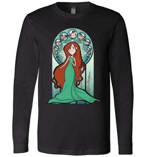 Sanctuary Of Wendy-Animation Long Sleeves-Whimsy Design And Illustration|Threadiverse