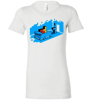 Sextris-Gaming Women's Shirts-DEMONIGOTE|Threadiverse