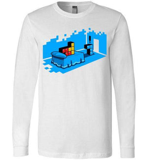 Sextris-Gaming Long Sleeves-DEMONIGOTE|Threadiverse