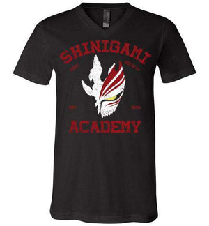 Shinigami Academy-Anime V-Necks-Ddjvigo|Threadiverse