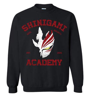 Shinigami Academy-Anime Sweatshirts-Ddjvigo|Threadiverse