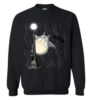 Singing In The Rain-Anime Sweatshirts-Ddjvigo|Threadiverse