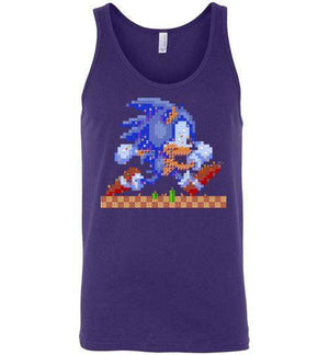 Sonic Maker-Gaming Tank Tops-CoD (Create Or Destroy) Designs|Threadiverse