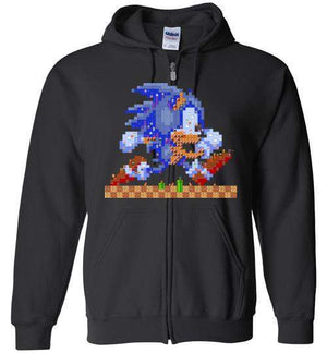 Sonic Maker-Gaming Hoodies-CoD (Create Or Destroy) Designs|Threadiverse