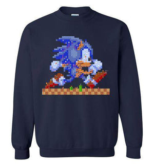 Sonic Maker-Gaming Sweatshirts-CoD (Create Or Destroy) Designs|Threadiverse