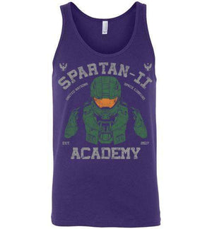 Spartan Academy-Gaming Tank Tops-Ddjvigo|Threadiverse