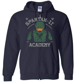 Spartan Academy-Gaming Hoodies-Ddjvigo|Threadiverse