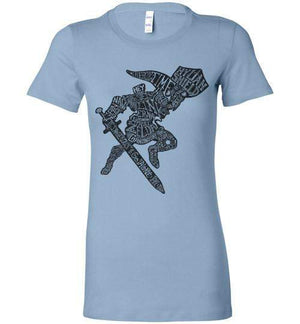 Speaking Of The Hero Link-Gaming Women's Shirts-Punksthetic Designs|Threadiverse