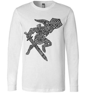 Speaking Of The Hero Link-Gaming Long Sleeves-Punksthetic Designs|Threadiverse