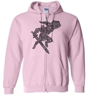 Speaking Of The Hero Link-Gaming Hoodies-Punksthetic Designs|Threadiverse