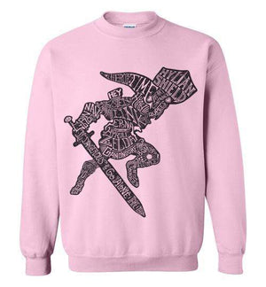 Speaking Of The Hero Link-Gaming Sweatshirts-Punksthetic Designs|Threadiverse