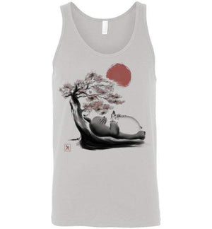 Spirit In The Forest-Anime Tank Tops-Ddjvigo|Threadiverse