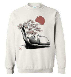 Spirit In The Forest-Anime Sweatshirts-Ddjvigo|Threadiverse