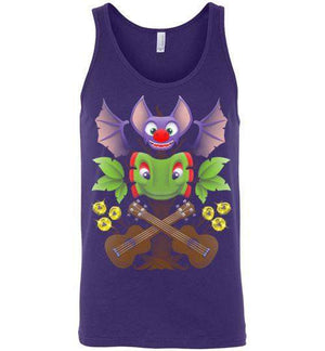 Spiritual Successor-Gaming Tank Tops-Punksthetic Designs|Threadiverse