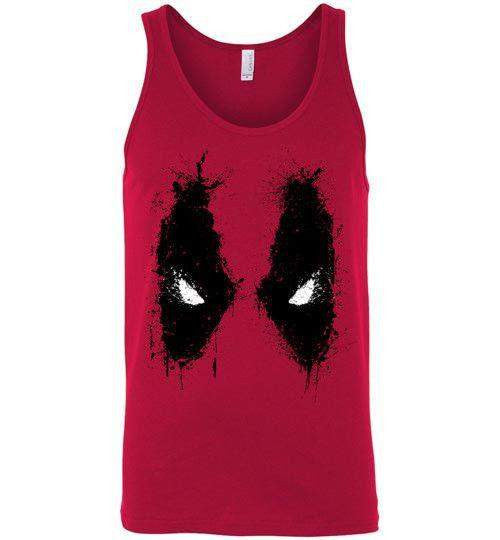 Splatted Merc-Comics Tank Tops-Ddjvigo|Threadiverse