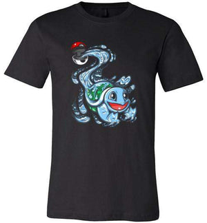 Squirtle Pokeball-Gaming Shirts-Punksthetic Designs|Threadiverse