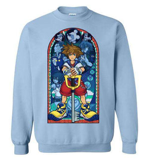 Stained Glass Of Memories-Gaming Sweatshirts-Whimsy Design And Illustration|Threadiverse