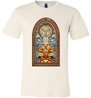 StainedGlass Aang-Animation Shirts-Fishmas|Threadiverse