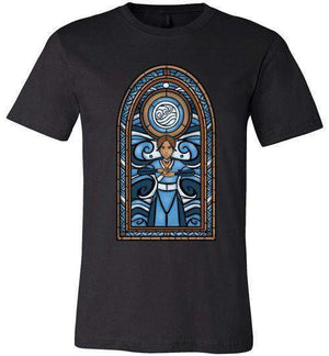 StainedGlass Katara-Animation Shirts-Fishmas|Threadiverse