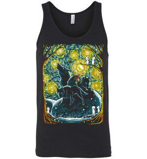 Starry Forest-Anime Tank Tops-Ddjvigo|Threadiverse