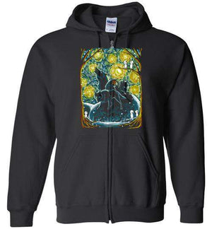 Starry Forest-Anime Hoodies-Ddjvigo|Threadiverse