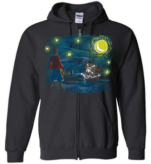 Starry Sea-Anime Hoodies-Ddjvigo|Threadiverse