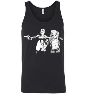 Suicide Fiction-Comics Tank Tops-Ddjvigo|Threadiverse