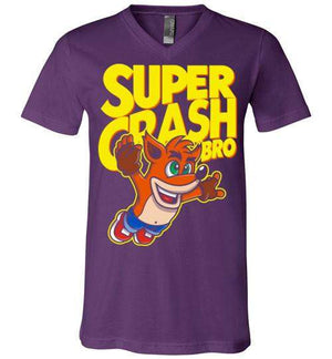 Super Crash Bro-Gaming Shirts-Punksthetic Designs|Threadiverse