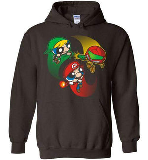 Super Puff Bros (M,L,S)-Gaming Hoodies-Punksthetic Designs|Threadiverse