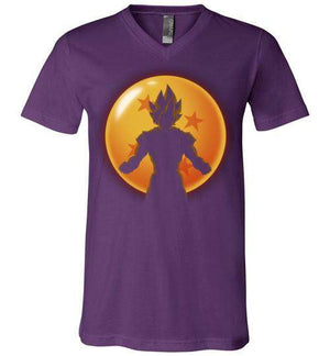 Super Saiyan Hero-Anime V-Necks-Ddjvigo|Threadiverse